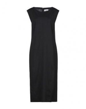 Платье длиной 3/4 TAVIANI. Цвет: черный