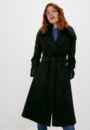 Пальто French Connection. Цвет: черный