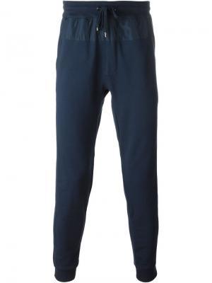 Классические брюки Michael Kors. Цвет: синий