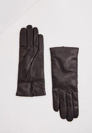 Перчатки Emporio Armani. Цвет: черный