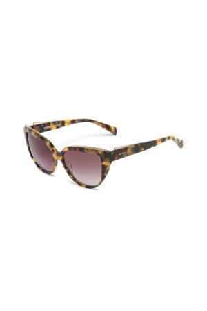 Очки солнцезащитные Balmain. Цвет: ecaille