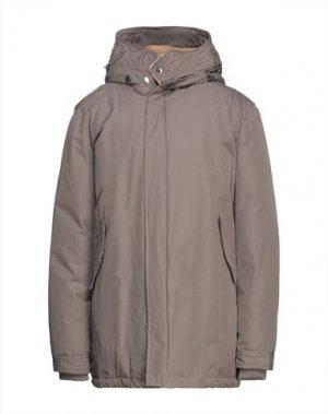 Пальто CANADIAN. Цвет: свинцово-серый