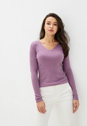 Пуловер Pavli. Цвет: фиолетовый
