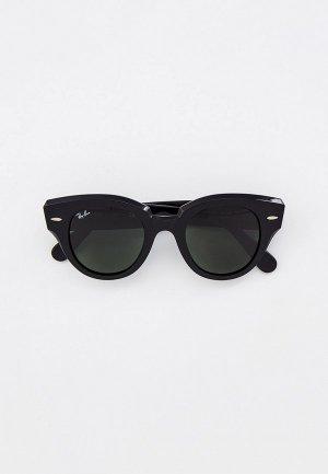 Очки солнцезащитные Ray-Ban® RB2192 901/31. Цвет: черный