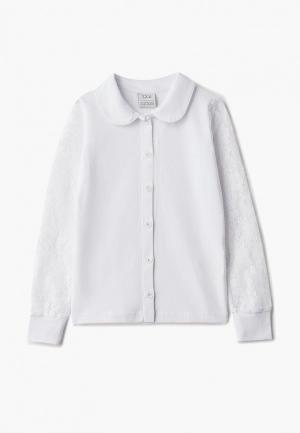 Блуза Zattani. Цвет: белый