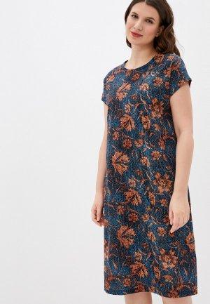 Платье Агапэ. Цвет: синий