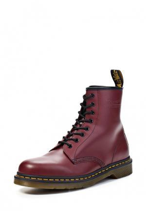 Ботинки Dr. Martens 1460. Цвет: бордовый