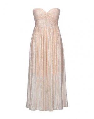 Платье длиной 3/4 GLAMOROUS. Цвет: песочный