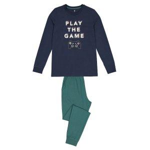 Пижама LaRedoute. Цвет: зеленый