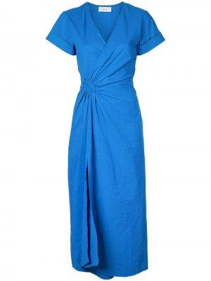 Расклешенное платье миди с короткими рукавами A.L.C.
