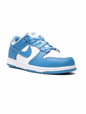 Кроссовки Dunk Low Nike Kids. Цвет: белый