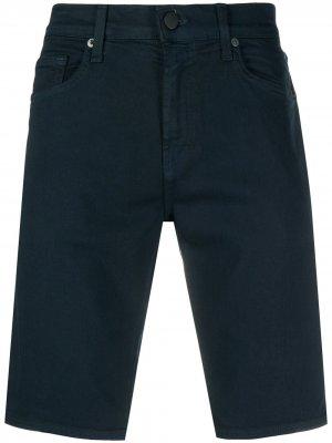 Джинсовые шорты чинос J Brand. Цвет: синий