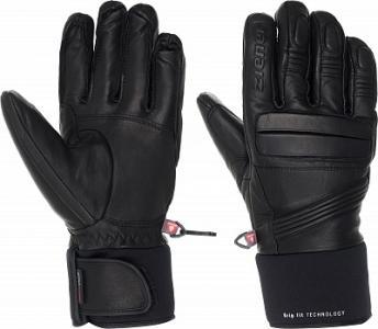 Перчатки мужские Glazier, размер 8 Ziener. Цвет: черный