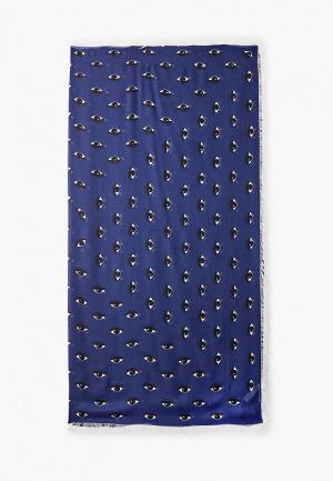 Платок Kenzo. Цвет: синий