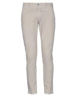 Повседневные брюки EXTE. Цвет: бежевый