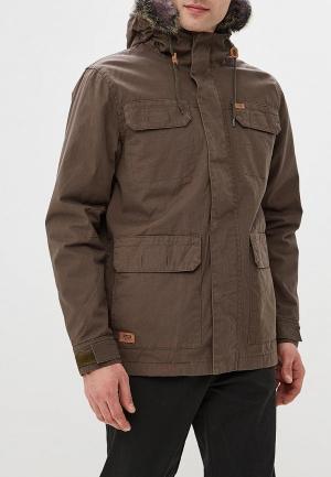 Куртка утепленная Globe Goodstock Thermal Parka Jacket. Цвет: хаки