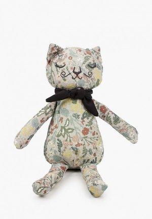 Игрушка мягкая Elodie Котик, Vintage Flower Valentine. Цвет: разноцветный