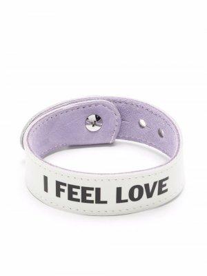 I Feel Love bracelet Honey Fucking Dijon. Цвет: белый