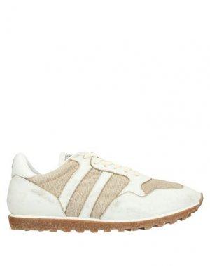 Низкие кеды и кроссовки ALBERTO FASCIANI. Цвет: белый