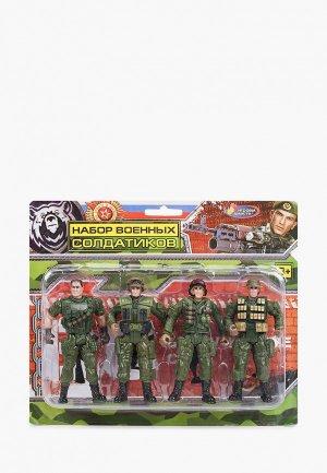 Набор игровой Играем Вместе Военные. Цвет: хаки
