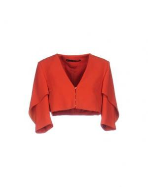 Пиджак ANNARITA N. Цвет: ржаво-коричневый