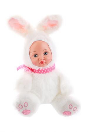 Игрушка Мой зайка Fluffy Family. Цвет: белый