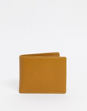 Кожаный бумажник Smith & Canova-Коричневый цвет And Canova