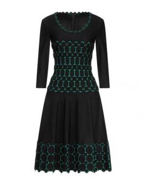 Платье миди ALAÏA. Цвет: черный