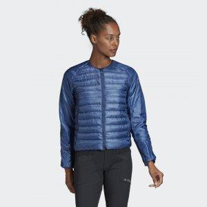 Утепленная куртка-бомпер Terrex Hike adidas. Цвет: none