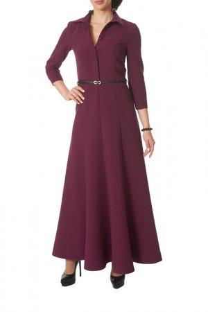 Платье Argent. Цвет: слива