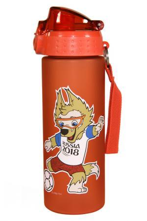 Бутылка 0,6 л FIFA licensed products. Цвет: красный
