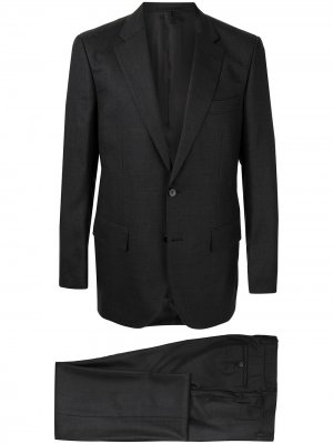 Костюм с однобортным пиджаком Gieves & Hawkes. Цвет: серый