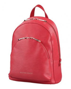 Рюкзаки и сумки на пояс SILVIAN HEACH. Цвет: красный