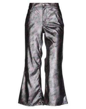 Повседневные брюки DOUUOD. Цвет: розовато-лиловый