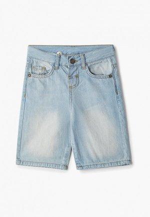 Шорты джинсовые LC Waikiki. Цвет: голубой