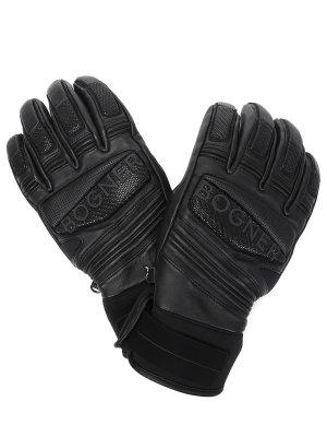 Перчатки кожаные с логотипом BOGNER