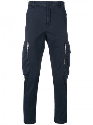 Классические брюки карго Neil Barrett. Цвет: синий