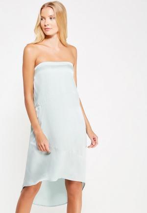 Платье Sacks Sack's. Цвет: голубой