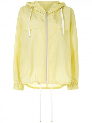 Куртка на молнии с капюшоном Colombo. Цвет: желтый