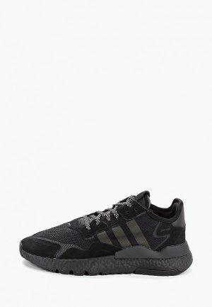Кроссовки adidas Originals NITE JOGGER. Цвет: черный