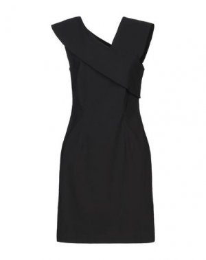Короткое платье LIVIANA CONTI. Цвет: черный