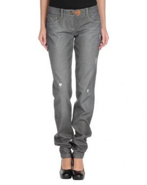 Джинсовые брюки COAST WEBER & AHAUS. Цвет: серый