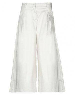 Повседневные брюки ALTEЯƎGO. Цвет: светло-серый