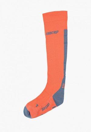 Гольфы CEP Knee Socks. Цвет: коралловый