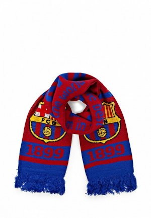 Шарф FC Barcelona FC001GUASB23. Цвет: бордовый
