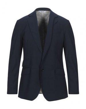 Пиджак BOTTEGA MARTINESE. Цвет: темно-синий