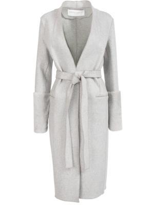 Классическое пальто Amanda Wakeley. Цвет: серый