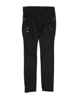 Джинсовые брюки IKKS. Цвет: черный