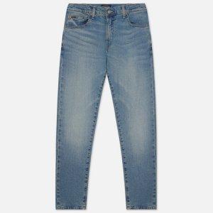 Мужские джинсы Sullivan Slim Fit 5 Pocket Stretch Denim Polo Ralph Lauren. Цвет: голубой