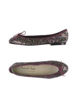 Балетки FRENCH SOLE. Цвет: фиолетовый
